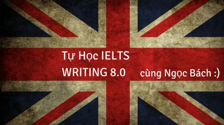 Tự học IELTS Writing 8.0 cùng Ngọc Bách (3)