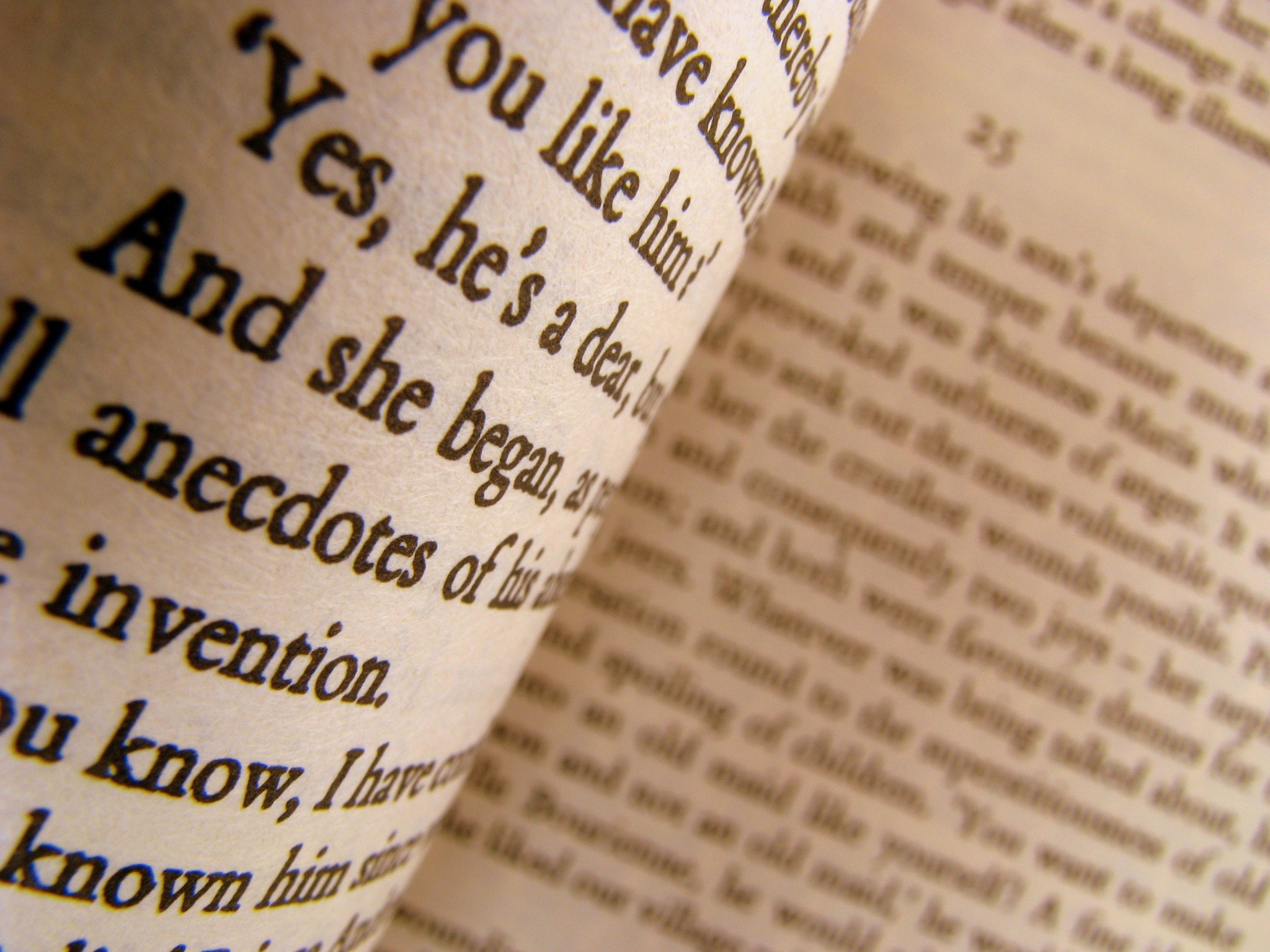 A Close-up of Some Pages of a Classic Novel