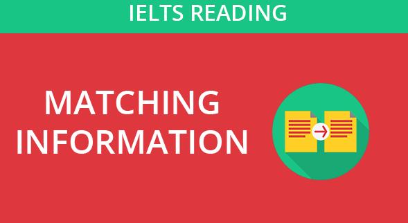 IELTS-READING-MATCHING-INFORMATON
